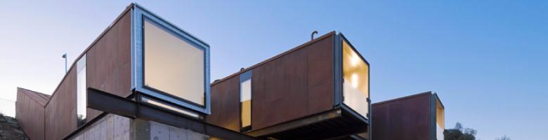 Una espectacular casa con containers marítimos