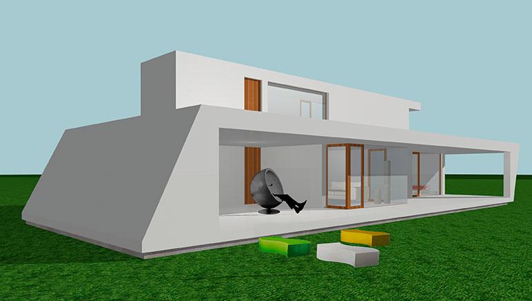 Casa modular en Mendivil