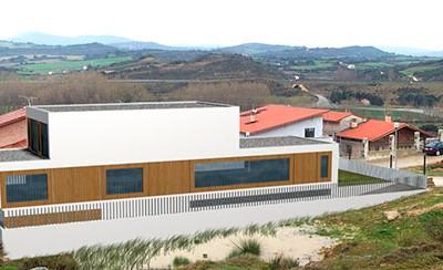 Casa modular en la Valdorba