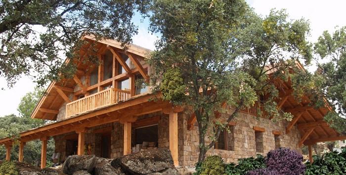 Casas modulares rústicas, tradición y eficiencia mezcladas en uno
