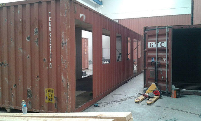 Casa con contenedores en navarra pop up project s l for Casas de container modernas