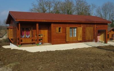 Casas de madera modulares