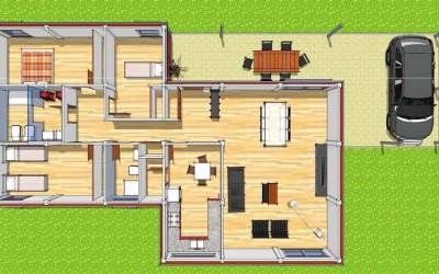 Planos de casas modulares y propietarios felices, la simbiosis perfecta