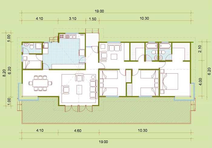 Hacemos planos de casas modulares for Planos gratis para construir casas